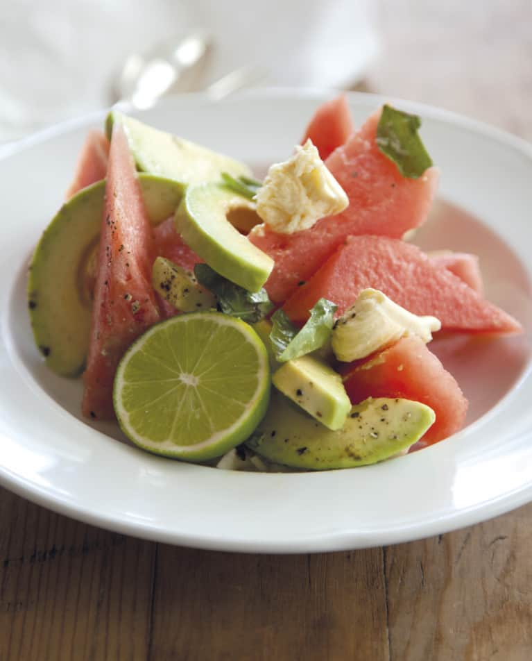 A Watermelon Avocado Salad Perfect For Summer