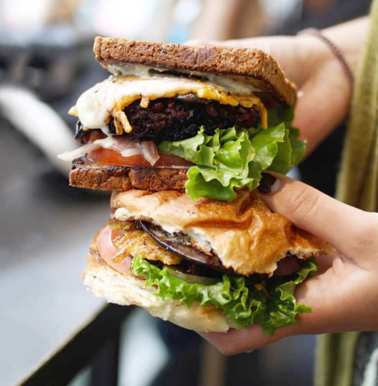 Finally: The Secret To Making A Veggie Burger That Doesn't Suck