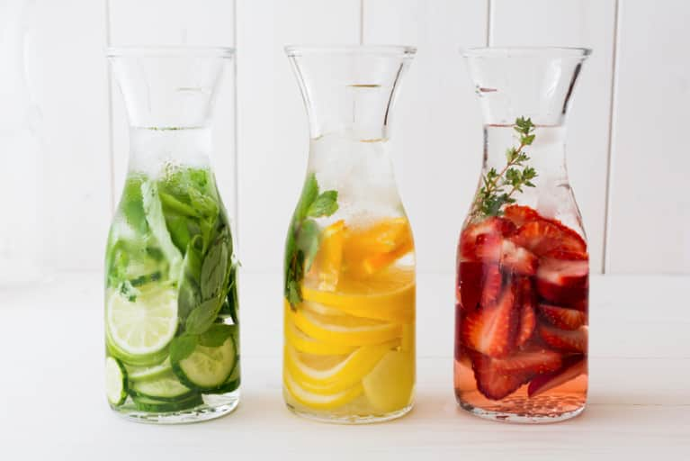 Turn Your Water Into A Tonic With These 5 Simple Recipes