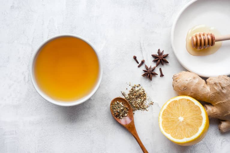 teas herbs to get rid of bloat mindbodygreen