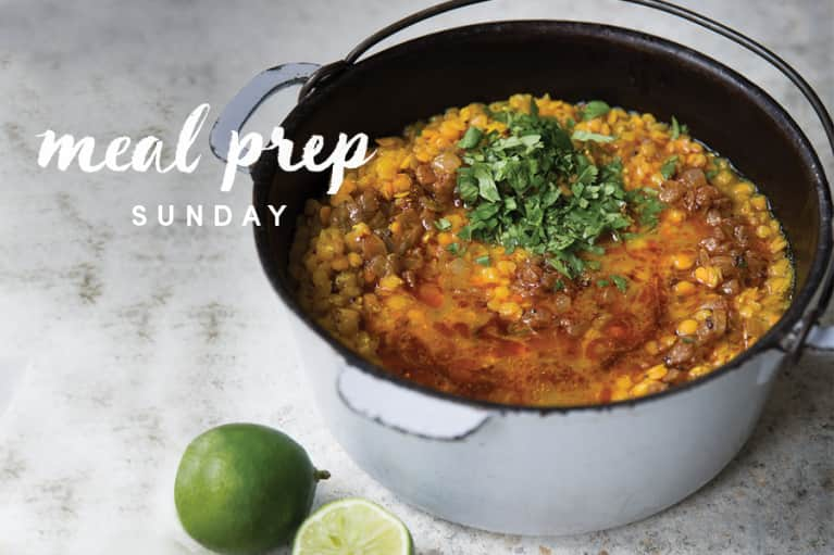 5 Days Of Healthy Meals: Inflammation-Taming Turmeric Soup Edition