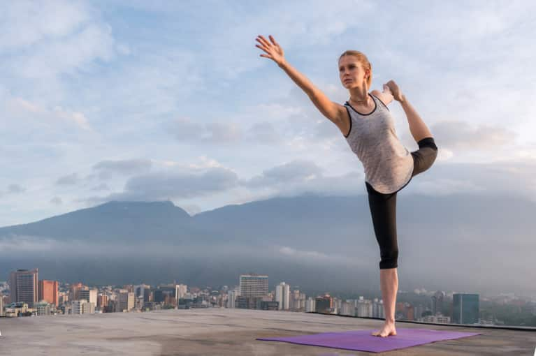 How To Stop Comparing Yourself To Everyone In Your Yoga Class