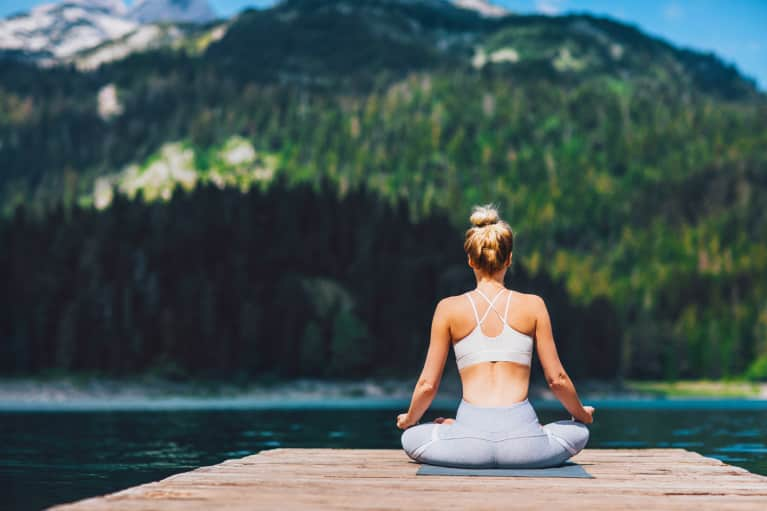 the easiest way to reduce stress with daily meditation mindbodygreen