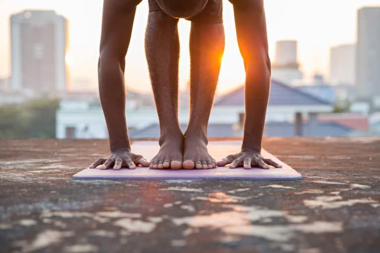 10 Yoga Poses To Heal Migraines - mindbodygreen 143e1052ed22