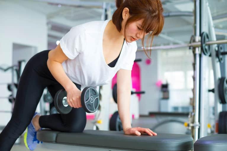 Necessary phrase... Hot teen girl lifting weights doubtful
