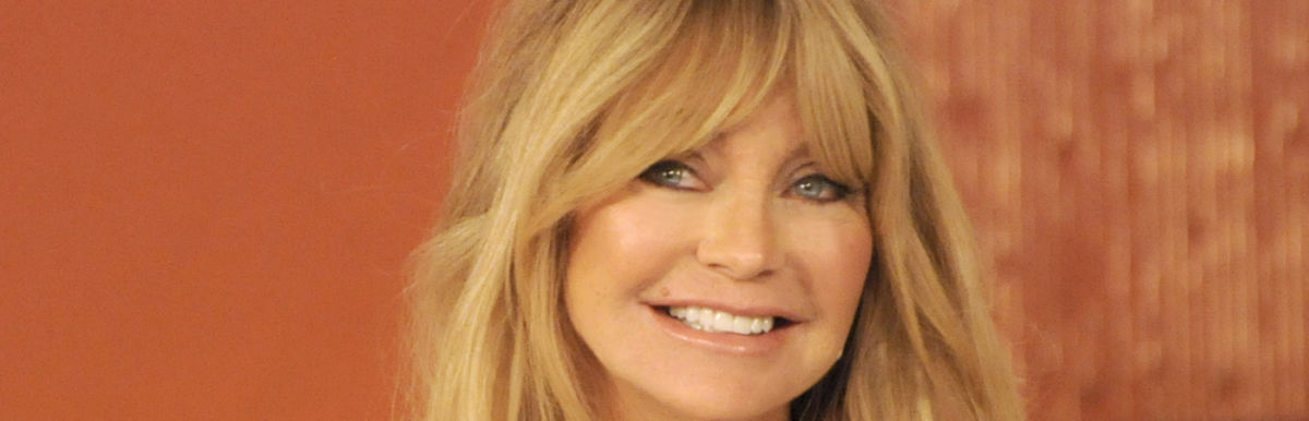 Goldie Hawn's 5 Simple Tips To Get (And Stay) Happy Hero Image