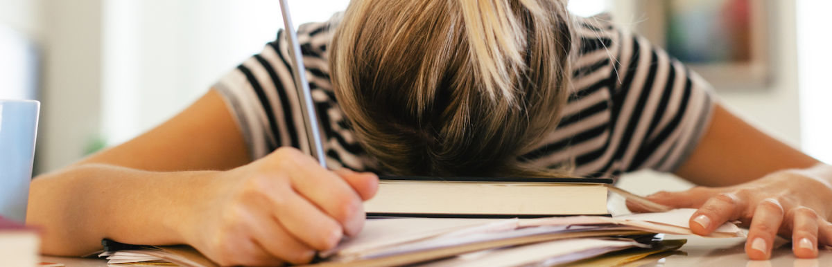 7 Reasons You're Exhausted All The Time Hero Image