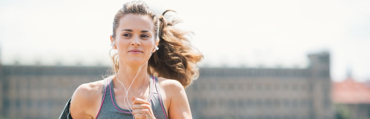 A 12-Minute Playlist For A Quick HIIT Workout Hero Image