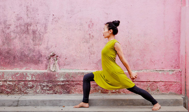 The 2 Yoga Poses That Make Embracing Change A Whole Lot Easier Hero Image