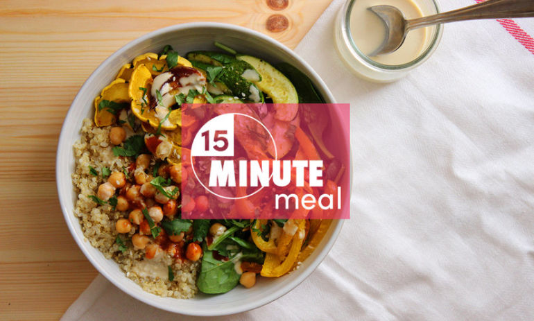 Eat Healthy All Week With These 15-Minute Meals! Hero Image