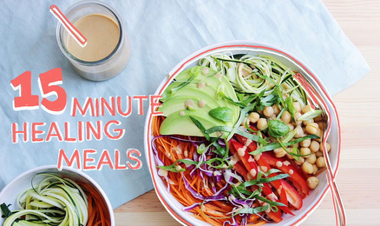 A Zucchini Noodle Bowl That's All About The Peanut Sauce Hero Image