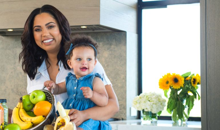 Ayesha Curry's 5 Tips for Eating Healthy On The Go Hero Image