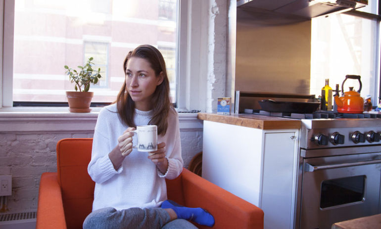 Stretch. Sip. Schedule & Focus. 4 Morning Habits That Make My Day Hero Image