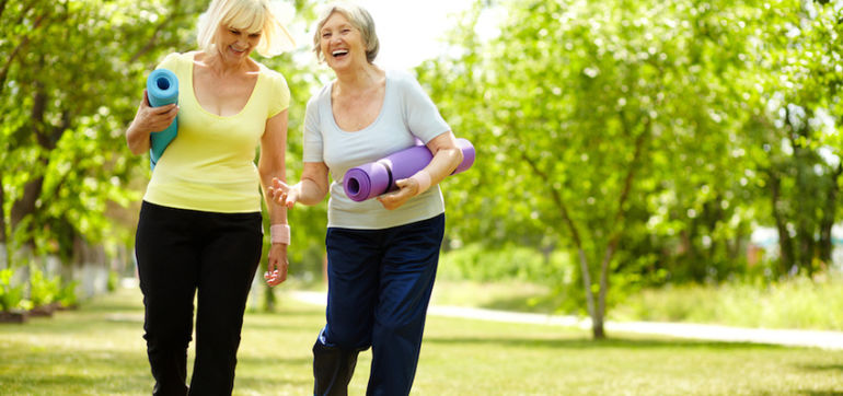 Walking 30 Minutes A Day Can Reduce The Risk Of Breast Cancer Hero Image
