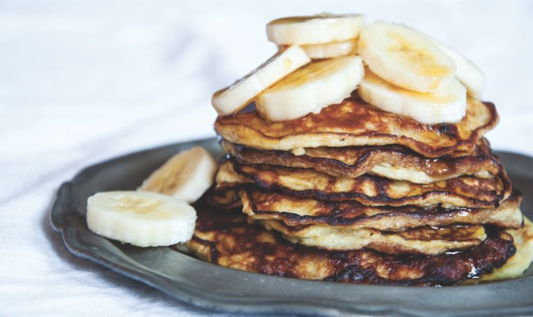 3-Ingredient Pancakes That Are Chock-Full Of Protein Hero Image