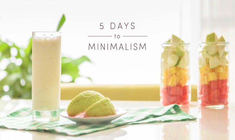 The Tastiest Ways To Apply A Minimalist Mindset To Your Food Hero Image