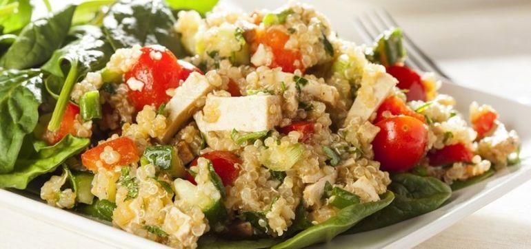 Quinoa & Swiss Chard Power Salad Hero Image