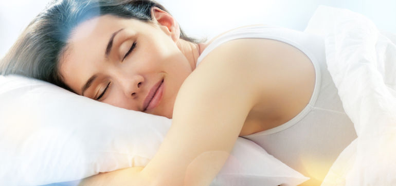 3 Yoga Stretches To Help You Sleep Better Hero Image