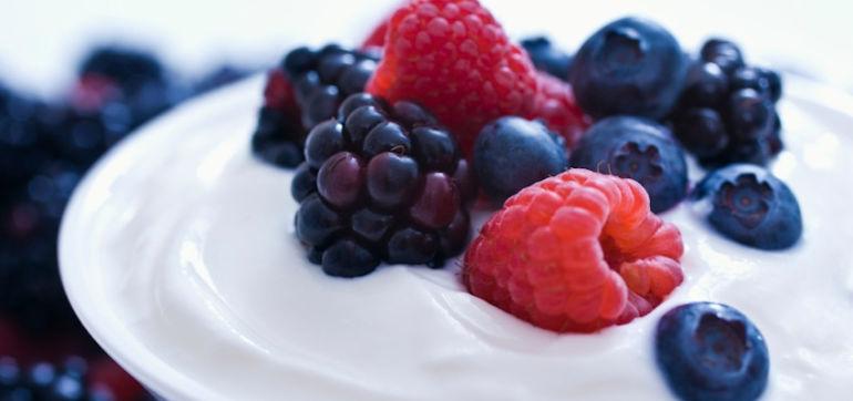 DIY Beauty: Honey Yogurt Berry Radiance Mask Hero Image