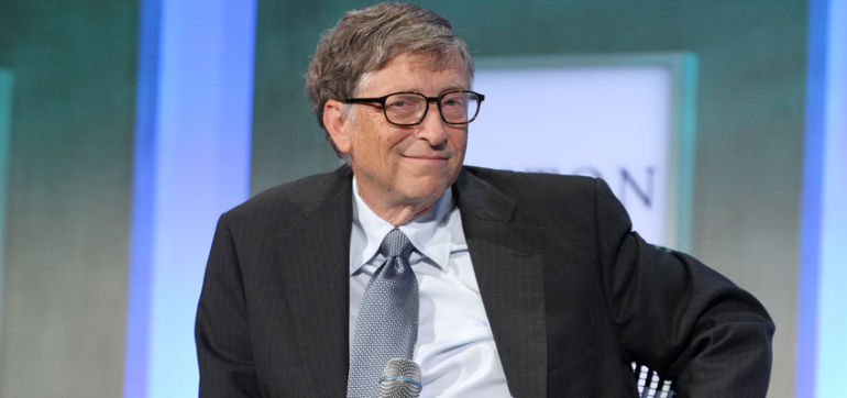 Bill Gates Drinks From A Machine That Turns Poop Into Fresh Water (Video) Hero Image