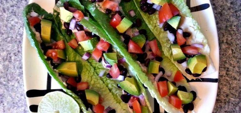 Easy & Light Lunch: Avocado-Tomato Lettuce Wraps Hero Image