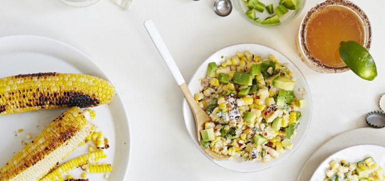 ¡Esquites! Healthy Mexican Street Corn Salad Hero Image