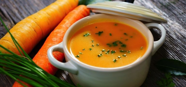Squash, Carrot, and Ginger Soup (A Fall Flavors Bonanza!) Hero Image