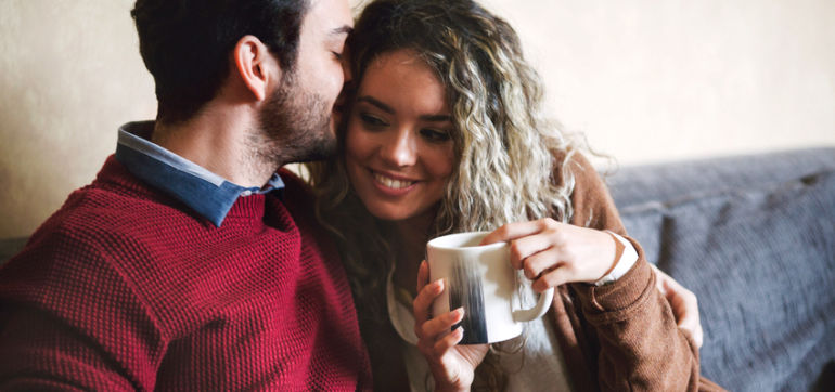5 Ways To Connect With Your Partner During A Busy Week Hero Image