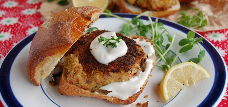 Sweet Balsamic Chickpea Cakes (They're Vegan, Too!) Hero Image