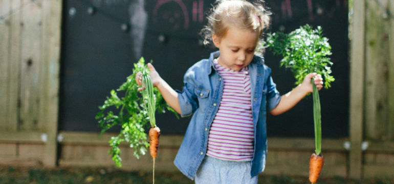 The Simplest Way To Get Kids To Eat More Vegetables Hero Image