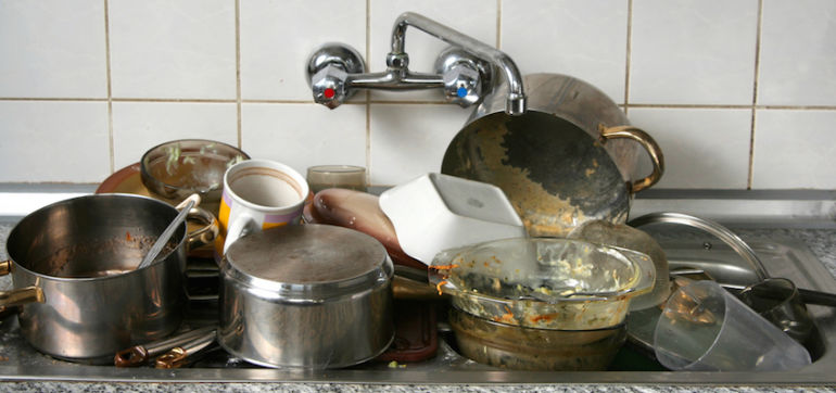 California Drought Inspires Chef To Clean Dishes Without Water Hero Image