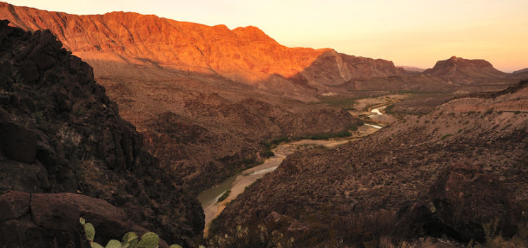 The Drought Has Almost Completely Dried Up The Rio Grande Hero Image
