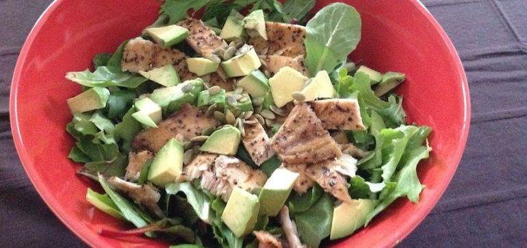 Easy Summer Salad That's Loaded With Healthy Fats Hero Image