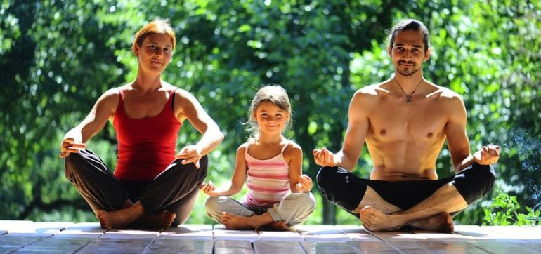 How Yoga Made Me A Better Parent Hero Image