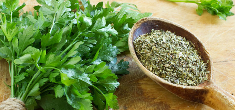 How Parsley Tea Cleared Up My Skin Hero Image