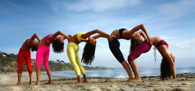Yoga With Friends (Adorable Photos) Hero Image