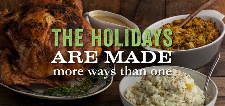 3 Show-Stopping Vegan, Veggie & Gluten-Free Holiday Recipes Hero Image