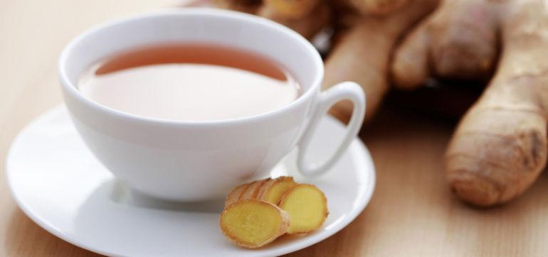 Anti-Inflammatory Turmeric & Ginger Tea Hero Image