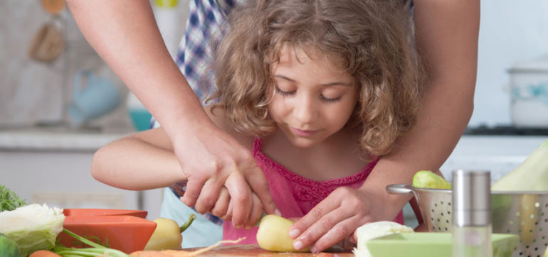 8 Ways To Get Kids To Eat More Fruits & Veggies Hero Image