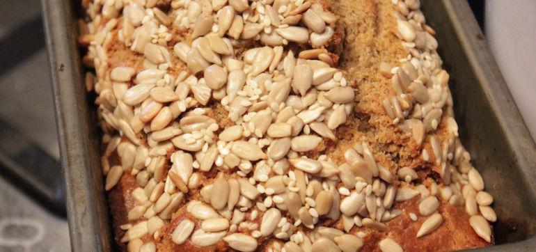 Gluten-Free Recipe: Homemade Bread Hero Image