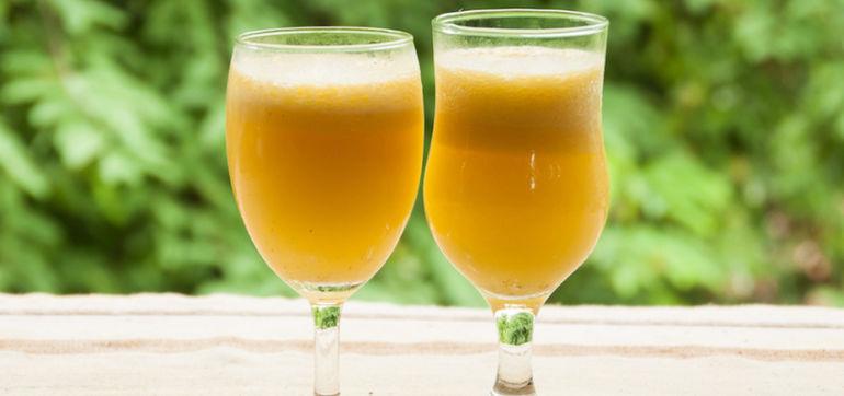 Anti-Inflammatory Lemon-Turmeric Tonic Hero Image
