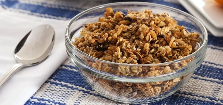 Gluten-Free Maple Granola Hero Image