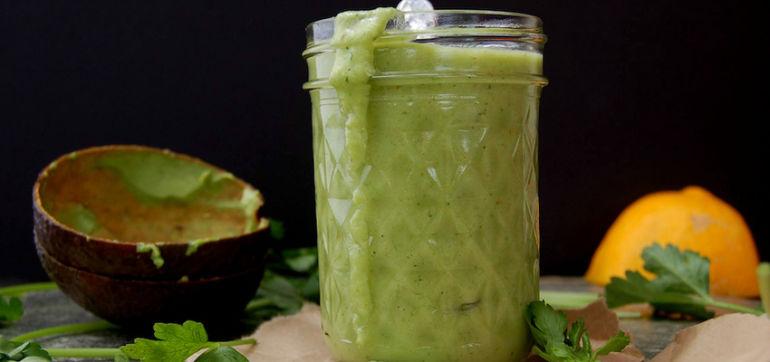 Super-Simple Green Goddess Salad Dressing Hero Image