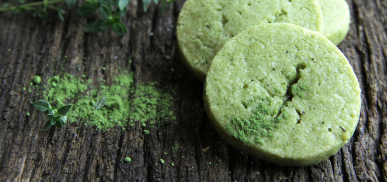 Decadent Green Tea Mint Meltaways (Vegan, Gluten-Free!) Hero Image