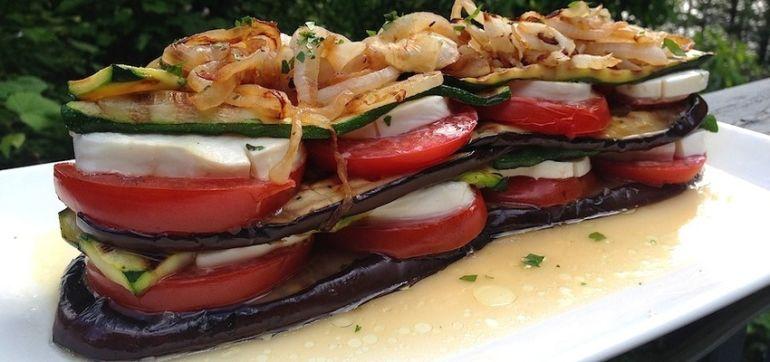 Grilled Vegetable Napoleon (It's Gluten-Free!) Hero Image