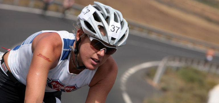 Healthy Travel Tips From Ironman Champion, Hillary Biscay Hero Image