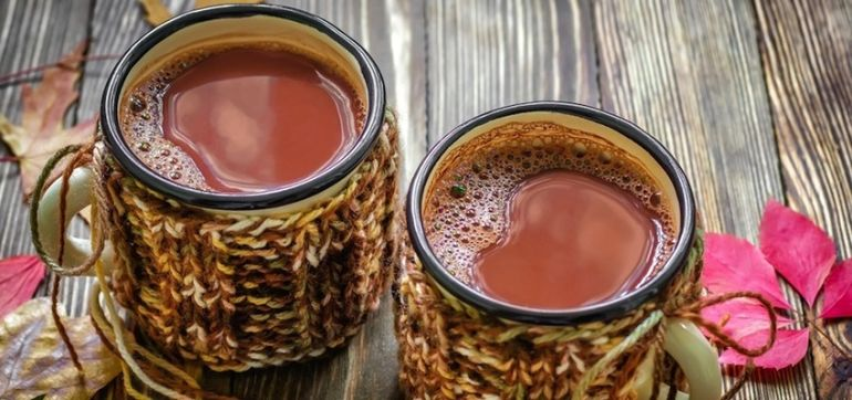 A Hot Cocoa That's Exploding With Superfoods! Hero Image