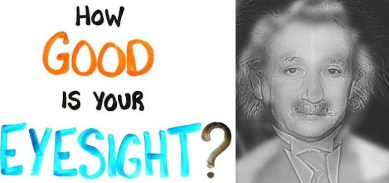 Do You See Einstein Or Monroe In This Video? It Depends On Your Eyesight Hero Image