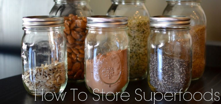 How To Store Your Superfoods For Maximum Freshness + Savings Hero Image