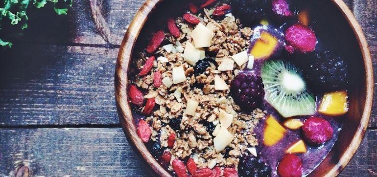 Berry & Kale Superfood Breakfast Bowl Hero Image